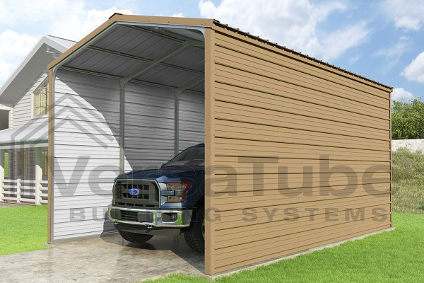Grand Carport 2-sided - 12x20x10 - FREE SHIPPING