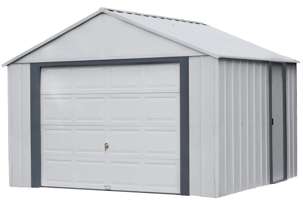 Arrow Murryhill 12' Wide Garage, Steel Storage Building, Prefab Storage Shed