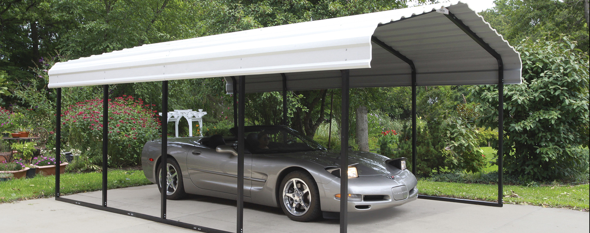 Shelters of New England, portable garages, carports and