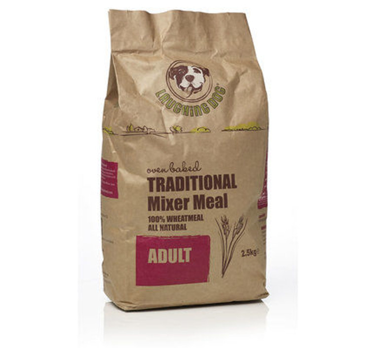 Laughing Dog Traditional Mixer Meal Adult