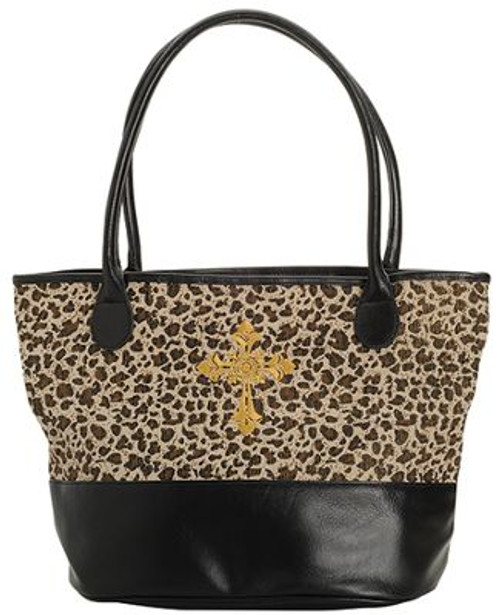 Animal Print Tote | Totebag two-toned| Positive Stationery and Gifts | Cross