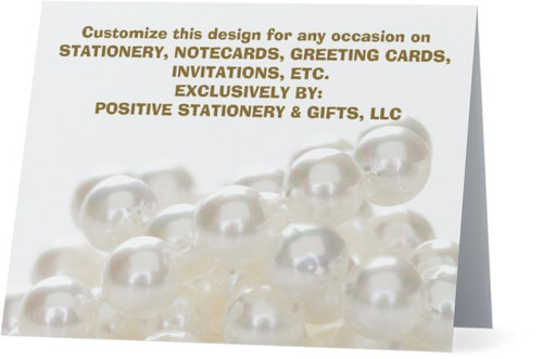 Notecards | Positive Stationery | Pearls Notecards