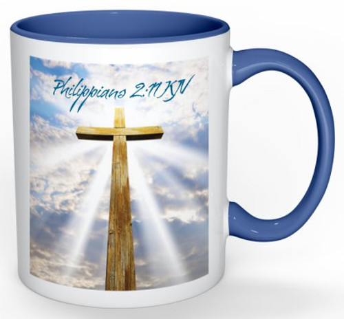 Colorful Mugs | Easter | Jesus | Jesus Christ is Lord | Positive Stationery | Philippians 2:11
