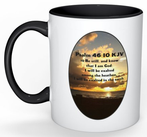 Colorful Mug and Inspirational Message