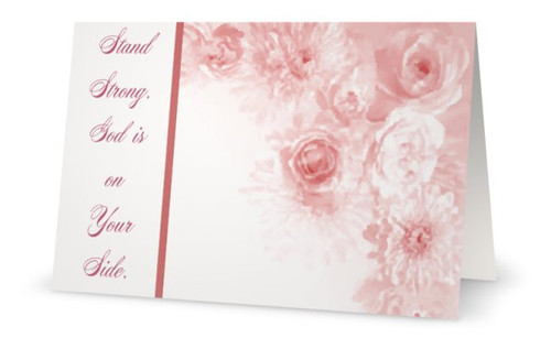 Encouragement | Positive Stationery | Creative Design | Breast Cancer Awareness