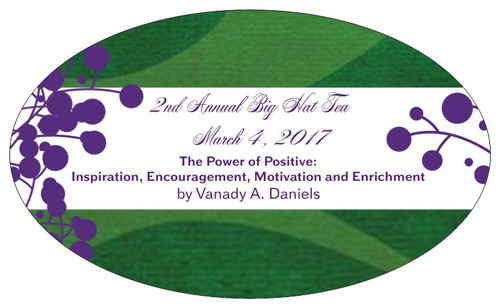 Product Label - Tea Party Style