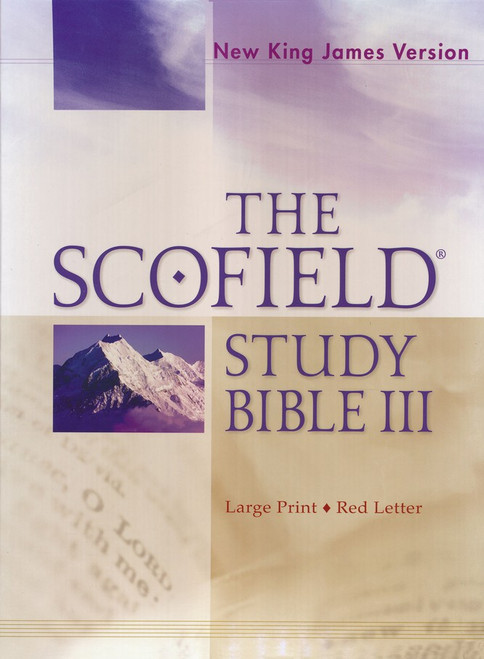 Scofield | Study Bible | Positive Stationery | Bible