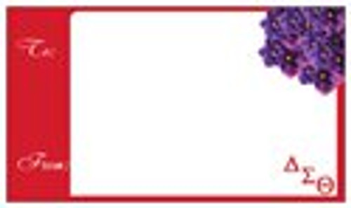 Delta Gift tags - Gift tags - Delta Sigma Theta gifts - Sorority Gift Tags