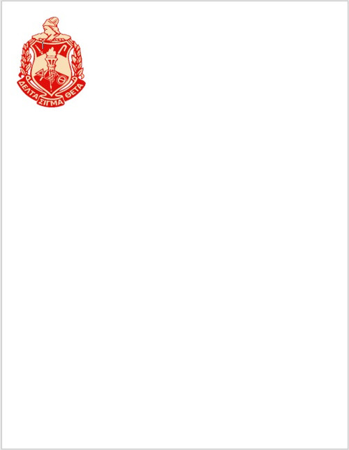 Notepad - Delta Minerva Shield - Delta Notepad - Writing - Notes - Meeting Notes