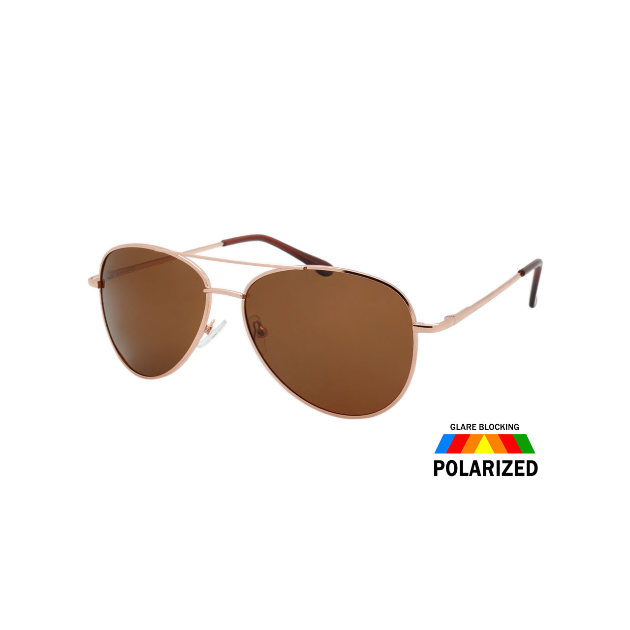76786cc5438 Wholesale Assorted Colors Metal Polarized Aviator Fashion Sunglasses ...