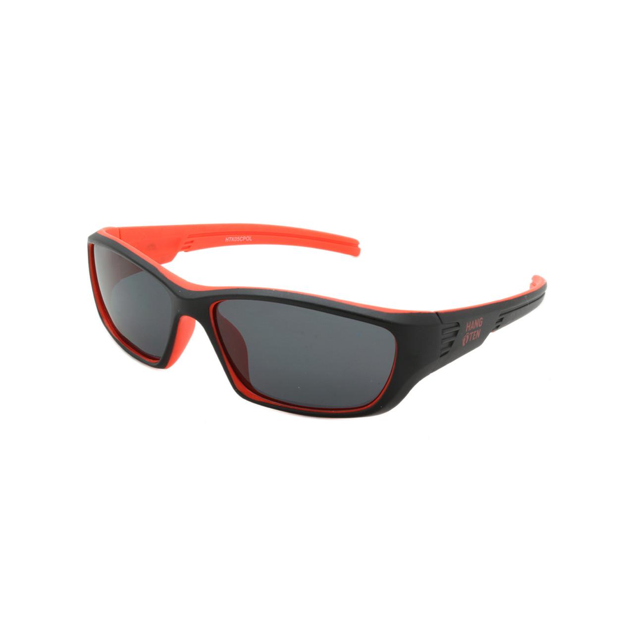 9bf5d59c43 Wholesale Black Red Plastic Hang Ten Kids UV400 Sport Wrap Sunglasses Kids  Bulk