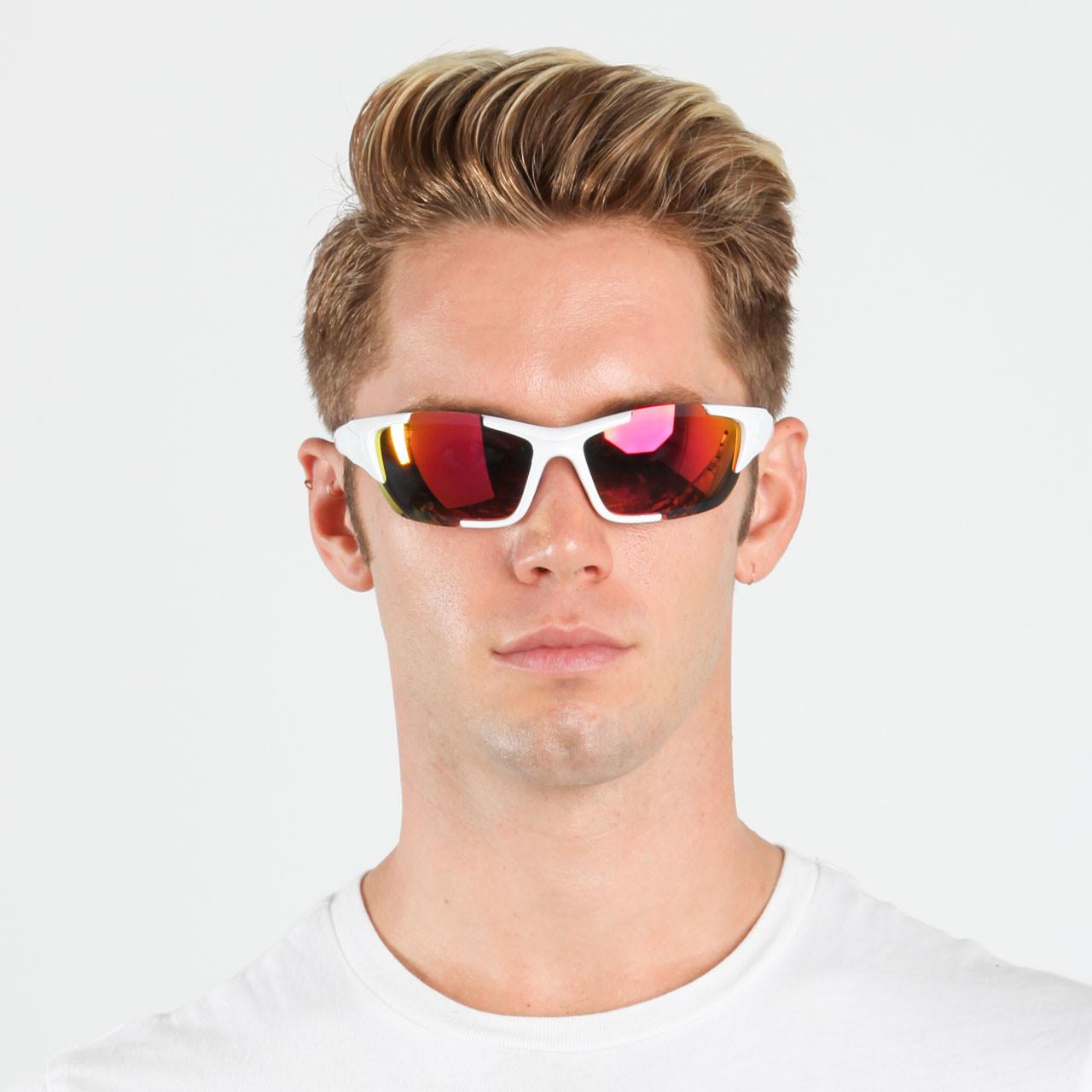 743e9e44a11e Wholesale Assorted Colors Plastic UV400 Sport Wrap Sunglasses Mens Bulk | 1  Dozen with Tags | RXS05. Racer X