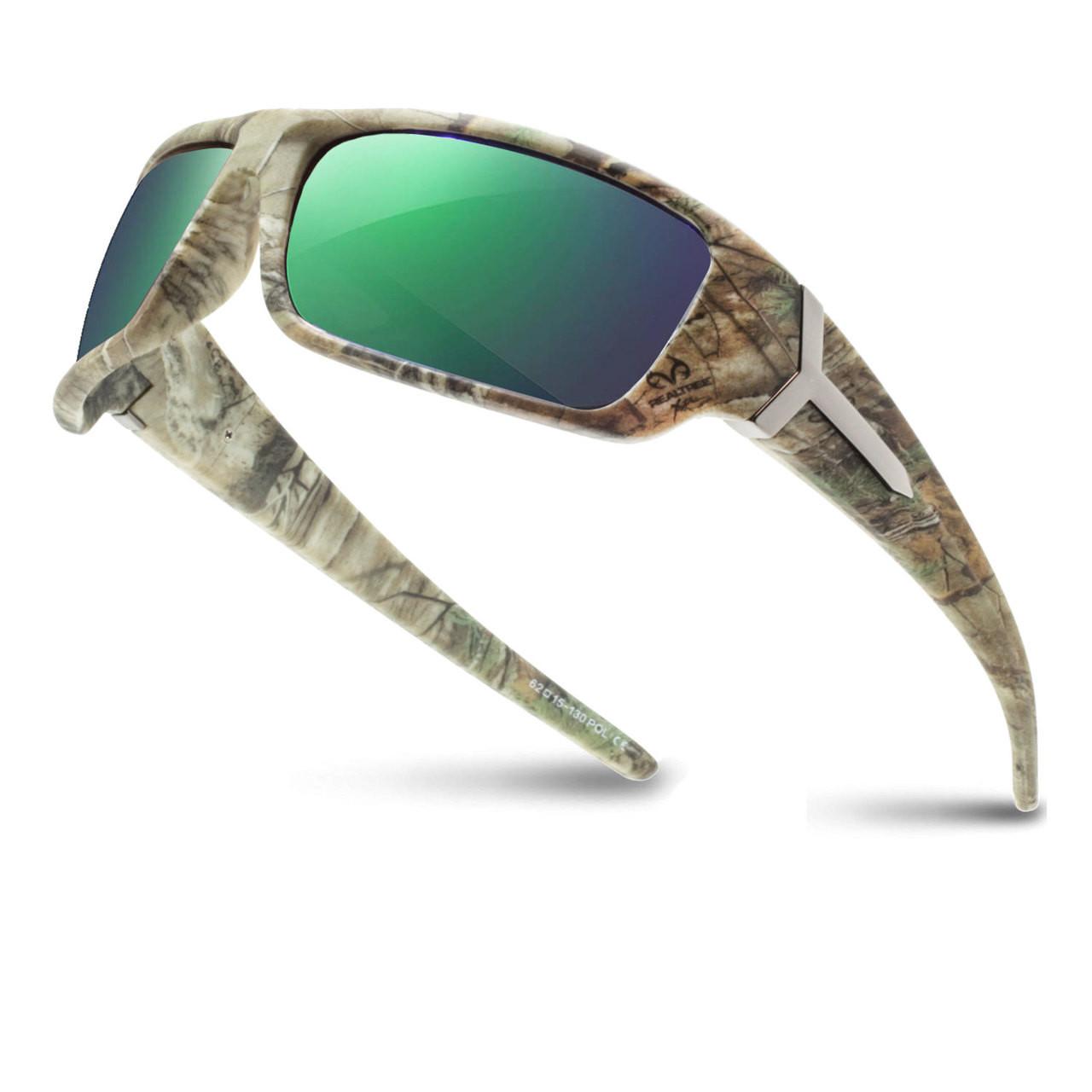 0cb5e4b29ce8 Wholesale Assorted Color RealTree Camo Pattern Plastic Polarized UV400  Sport Wrap Sunglasses Mens Bulk | 1 Dozen with Tags | RXS03RTPOL. Racer X