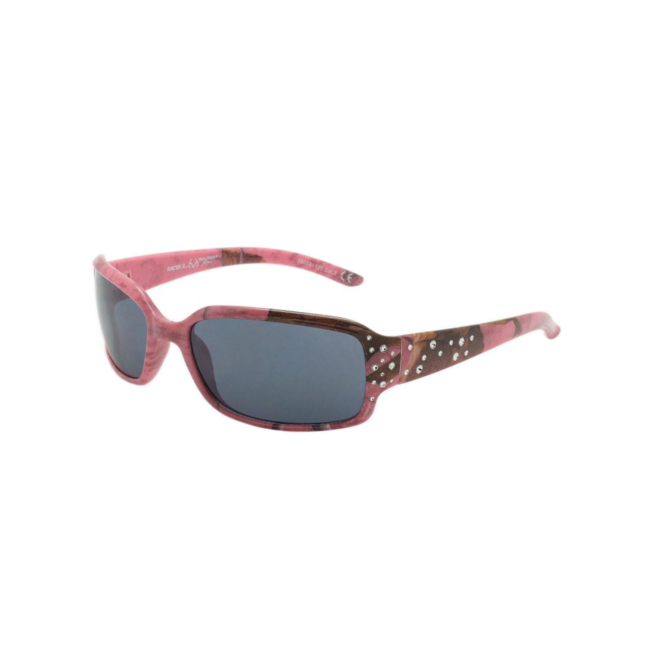 6f6be7da1ad Ladies RacerXX RealTree Pink Camo Sunglasses