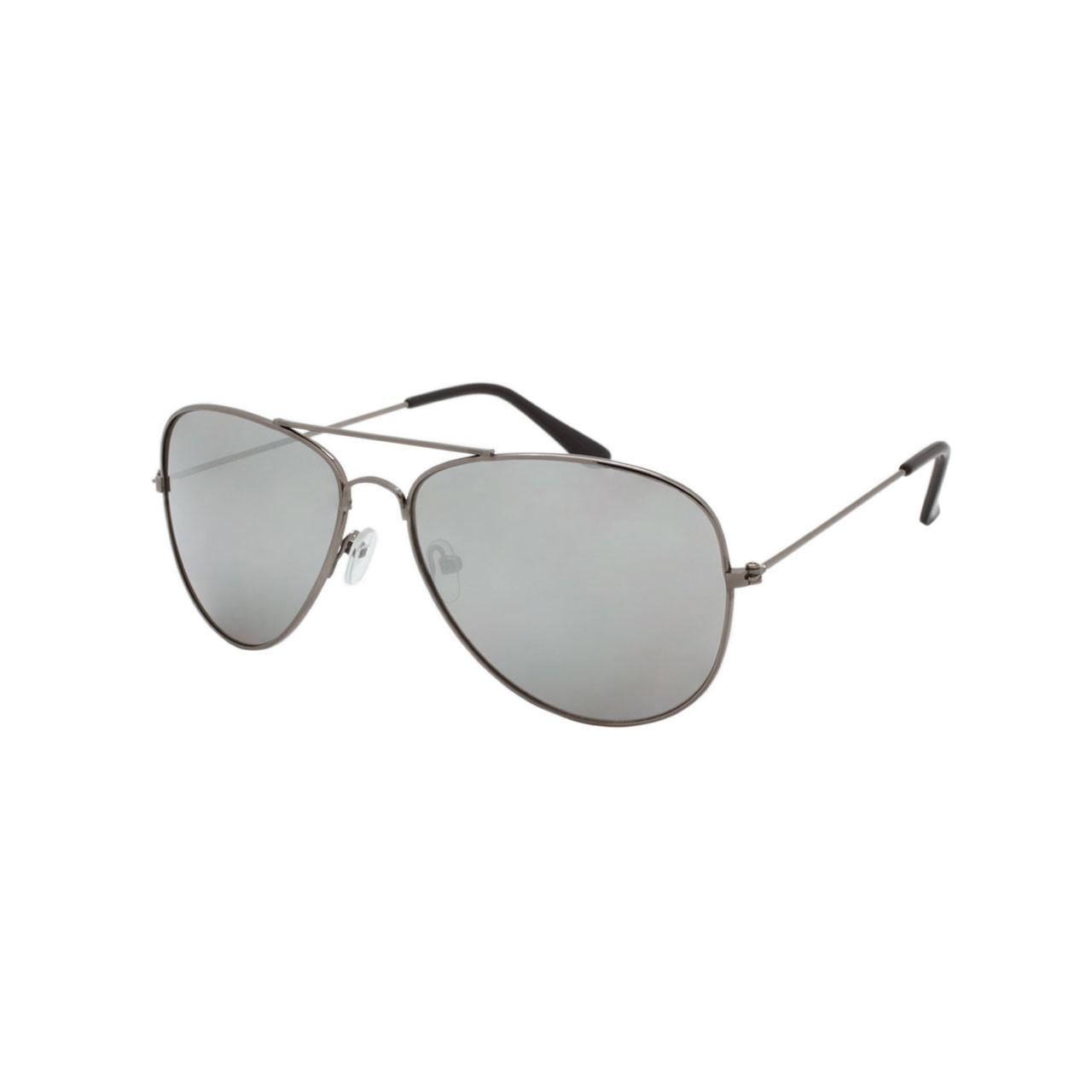 c82ae35e8060 Wholesale Smoke Color Metal UV400 Aviator Sunglasses Unisex Bulk