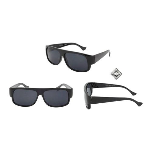 c775b2d153 ... Wholesale Black Plastic UV400 Square Sport Sunglasses Mens Bulk
