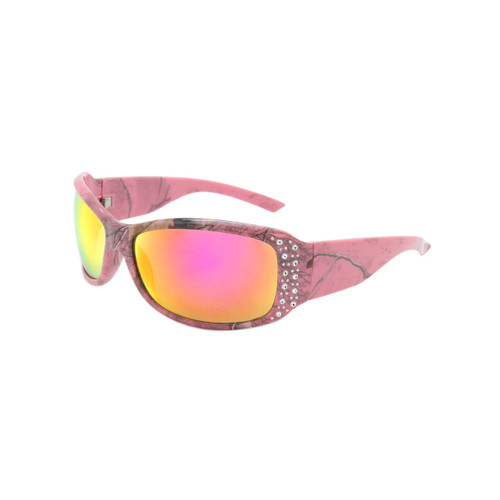 c18846a95818e Women s Racer XX RealTree Sunglasses Purple Mirror Lens RealTree Pink Camo  Frame Pink RealTree Camo Temple .