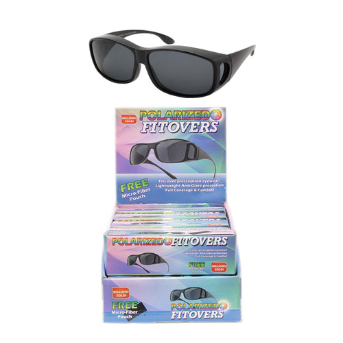 9af533d13e Wholesale Smoke Color Polycarbonate Polarized Round Square Sunglasses  Cardboard Counter Display 12 Pieces