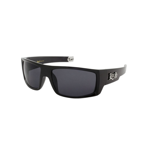 7194abb7527a Wholesale Black Plastic UV400 Locs Square Sport Sunglasses Mens Bulk