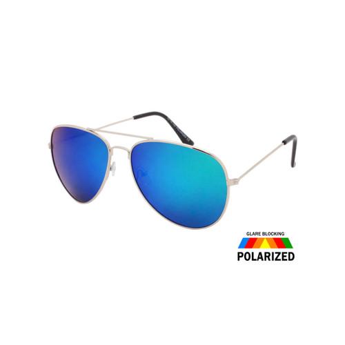 c8497510ddf Wholesale Assorted Colors Metal Polarized Aviator Sunglasses Unisex Bulk