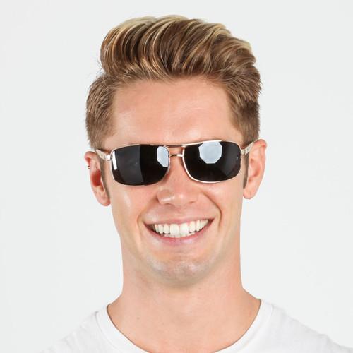 b49e426b5020e Wholesale Assorted Color Metal UV400 Aviator Sunglasses Mens Bulk