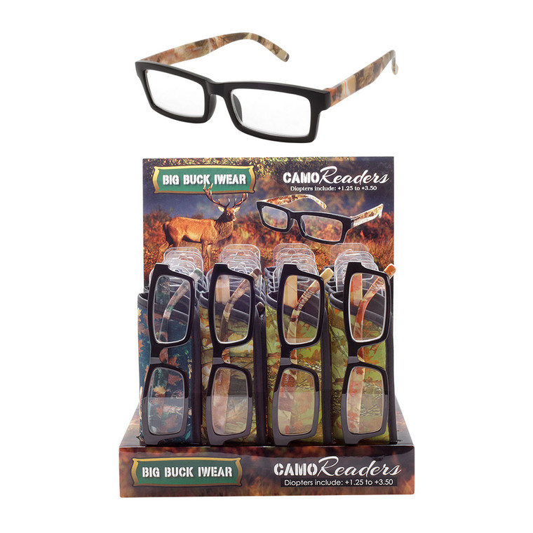 Men's Big Buck Iwear Readers + Display