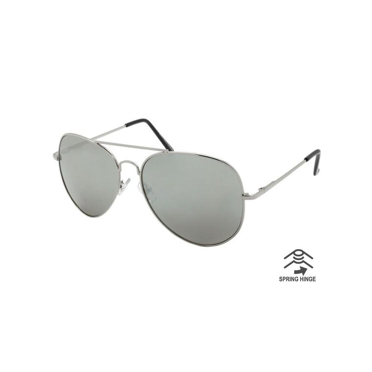 Aviator Sunglasses with Spring Hinge