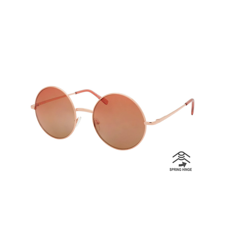 Women's Round Spring Hinge Dazey Shades Sunglasses