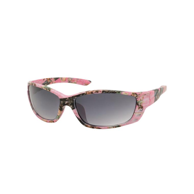 Women's Big Buck Iwear Pink Camo Sunglasses