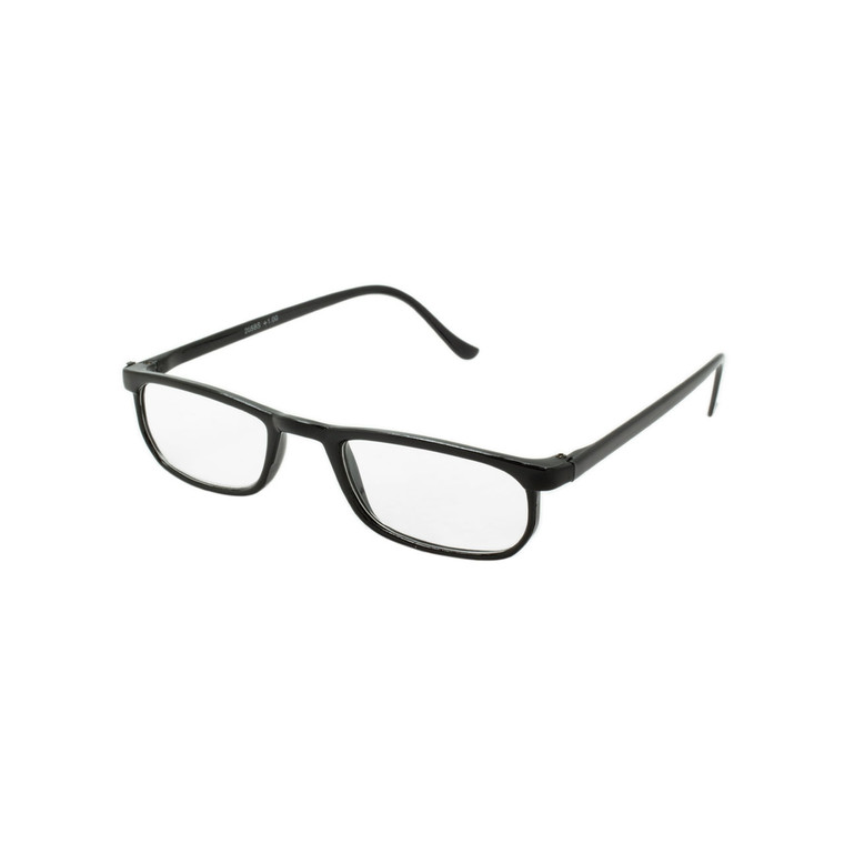 Single Power Unisex Cheetah Half-Eye Readers