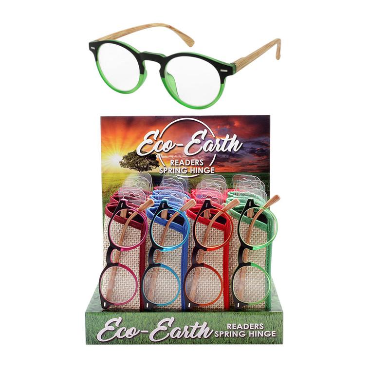 Eco Earth Spring Hinge Readers + Display