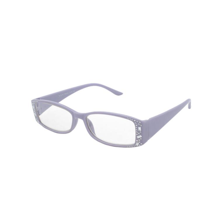 Women's Square Rhinestone Reading Glasses MIRG14 A