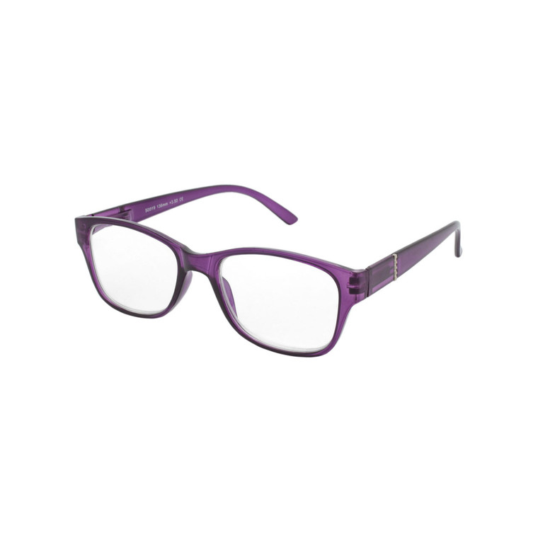 Women's Square Spring Hinge Reading Glasses MIRG17 A