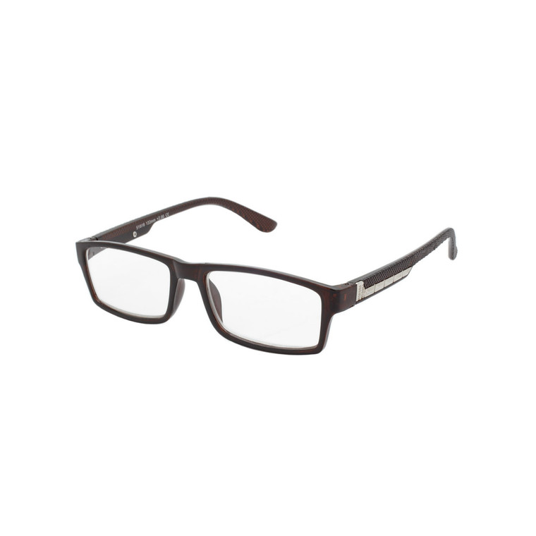 Men's Square Reading Glasses MIRG7 A