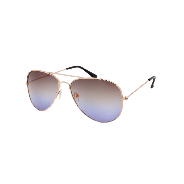 Fashion Aviator Ocean Lens Sunglasses