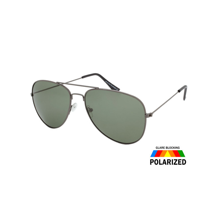 Unisex Aviator Polarized Sunglasses