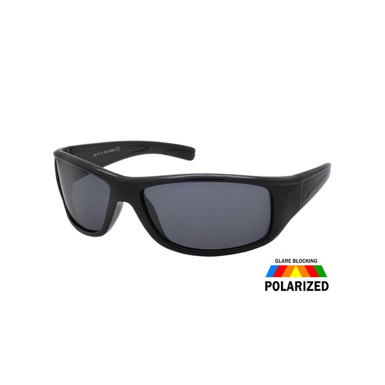 Men's Sport Wrap Polarized Sunglasses