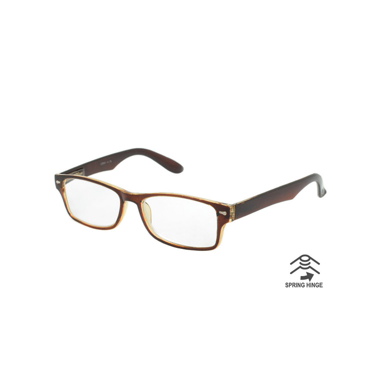 Unisex Double Color Readers With Spring Hinge