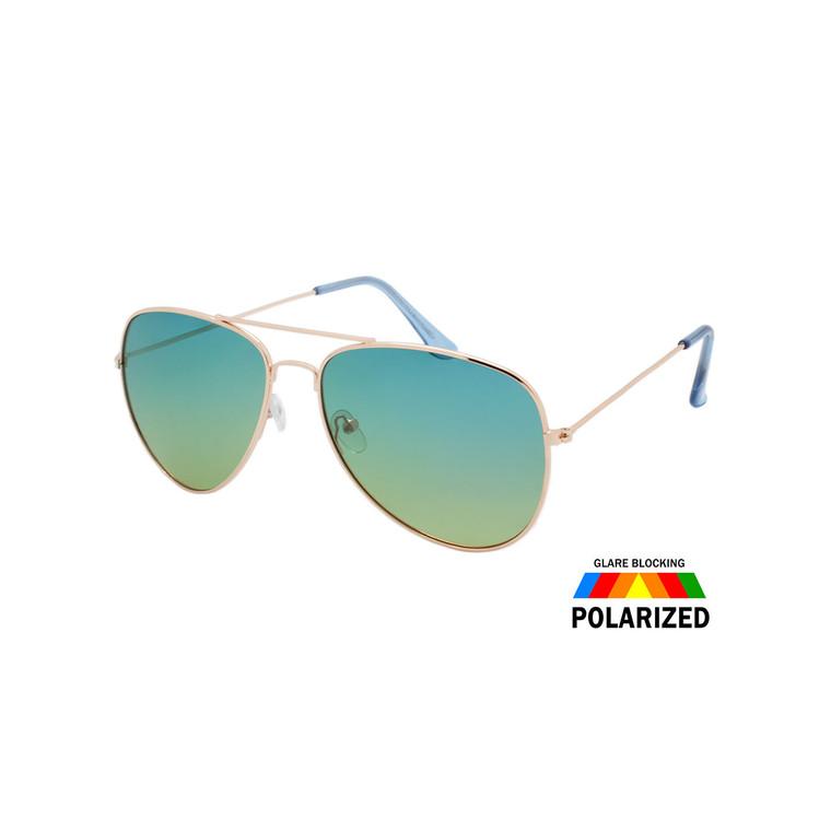 Polarized Ocean Lens Aviator Sunglasses