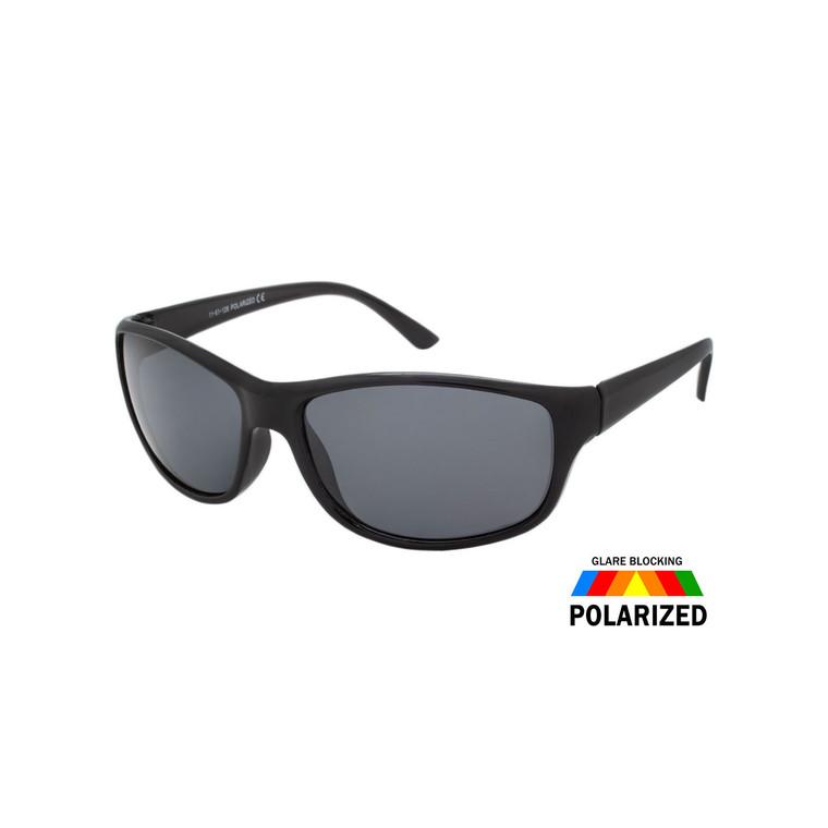 Men's Polarized Sport Wrap Sunglasses