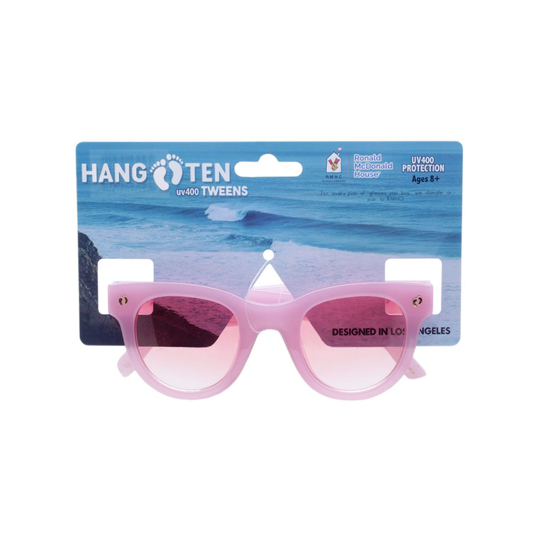 Hang Ten Pink Classic Tweens Sunglasses