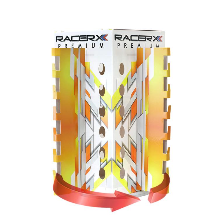 RacerX Premium Display + Spinning Bottom