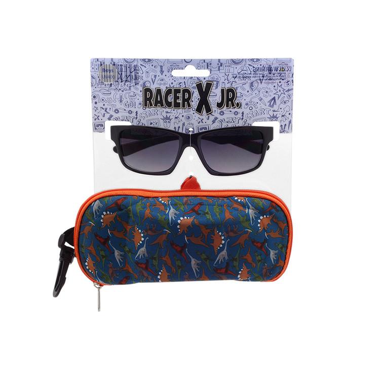 Racer X Jr. Dinosaur Sunglasses + Case Set