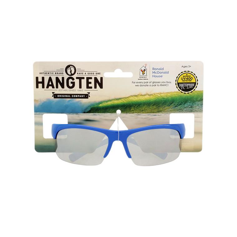 Hang Ten Kids Silver Mirror Lens Sunglasses with Hang Card