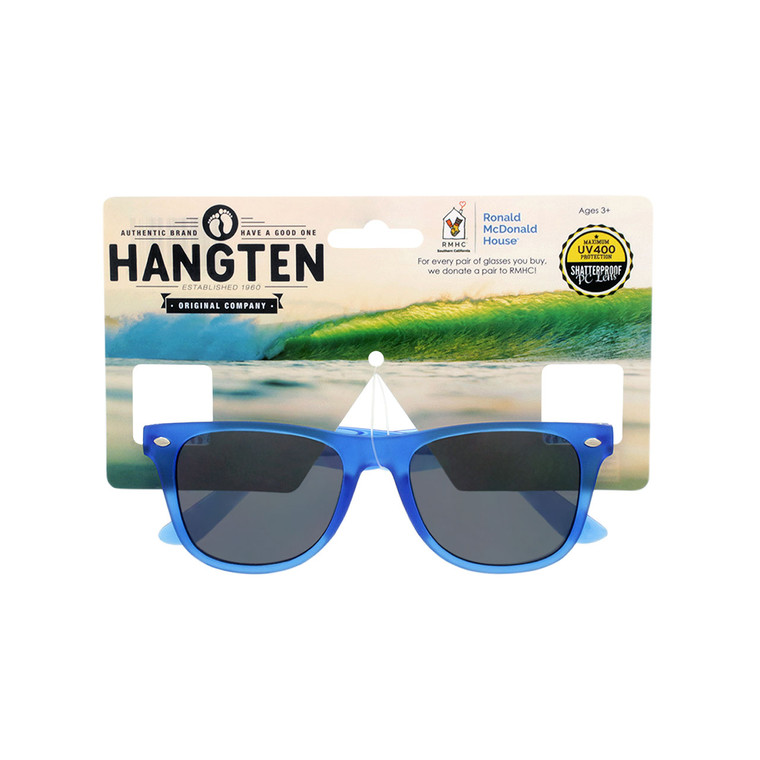 Hang Ten Kids Navy Blue Sunglasses with Hang Card