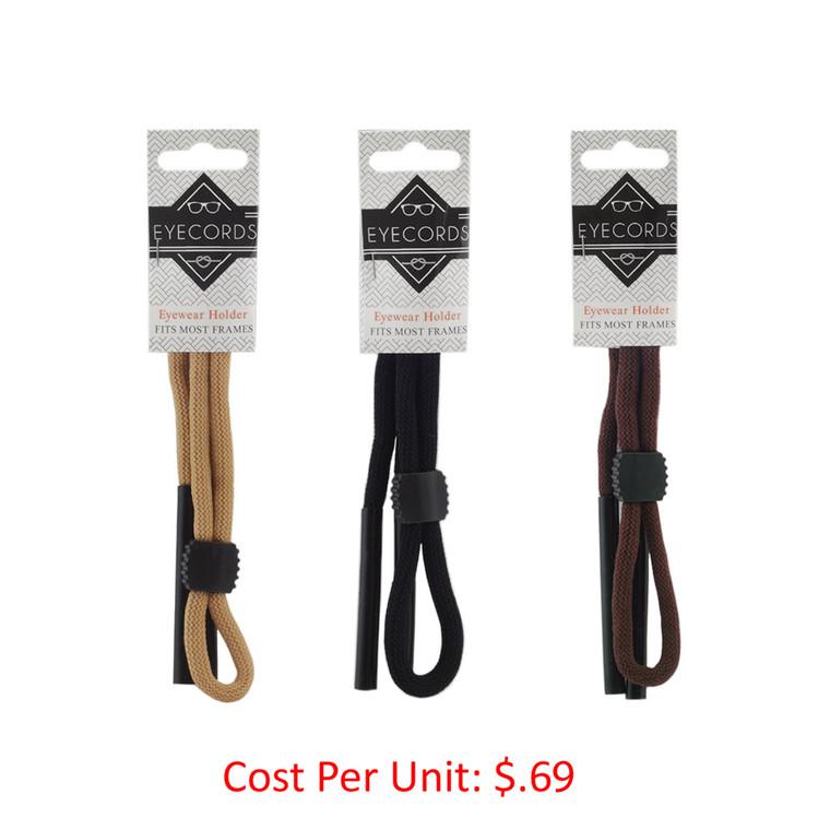 Wholesale Assorted Color Nylon Eyewear Neck Strap | EYECORDS-1