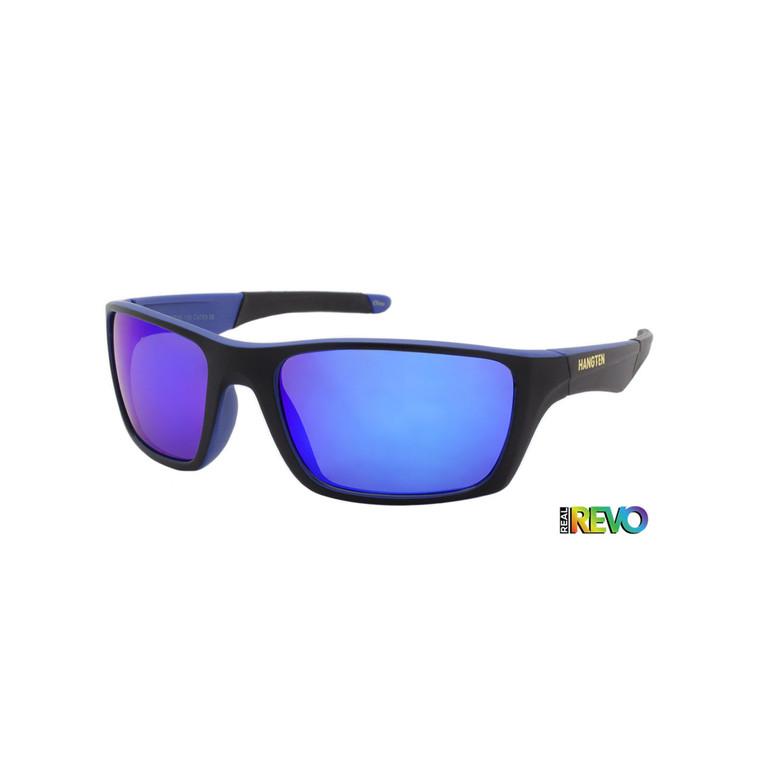 Hang Ten Blue Revo Sport Sunglasses