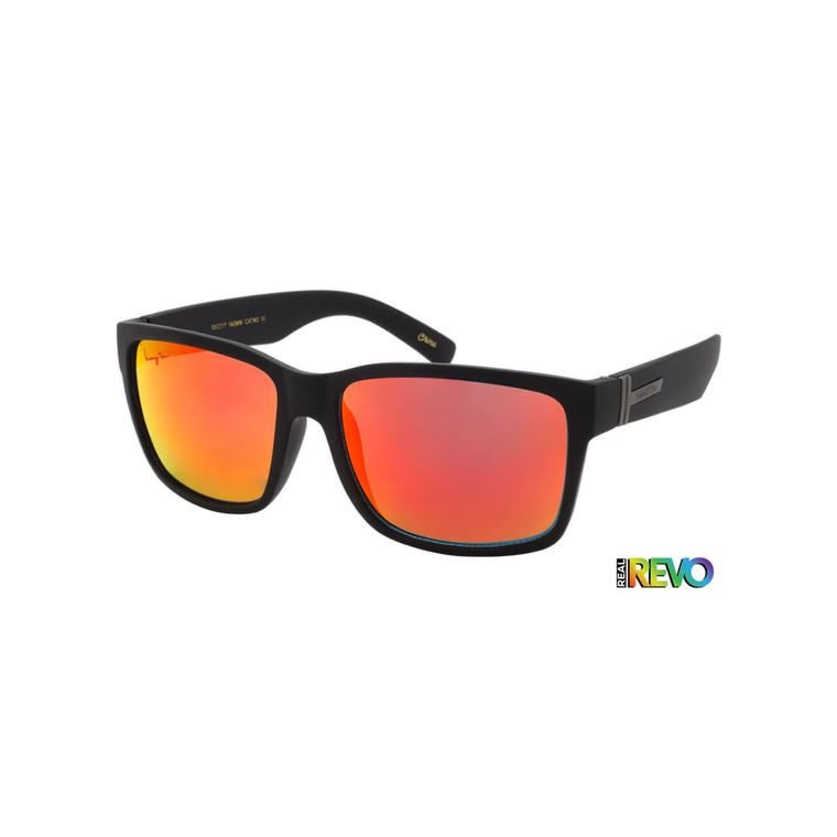 Hang Ten Red Revo Lens Adult Sunglasses