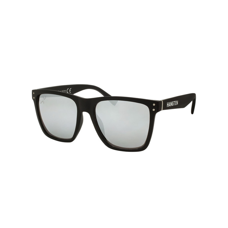 Men's Hang Ten Silver Mirror Lens Sunglasses