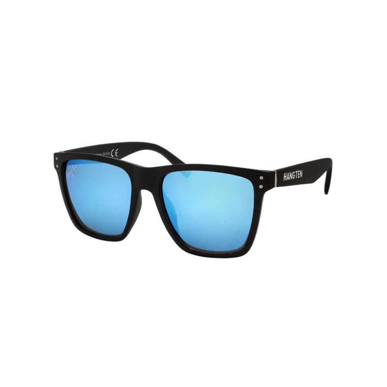 Men's Hang Ten Blue Mirror Lens Sunglasses